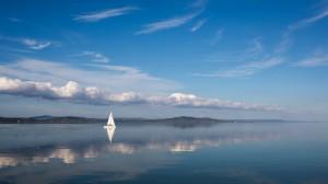 Balaton_Seegelboot